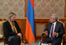 President receives U.S. Deputy Assistant Secretary of State for European and Eurasian Affairs Bridget Brink