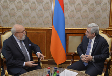President receives world-famous composer Krzysztof Penderecki