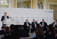 Remarks by the President of the Republic of Armenia  Serzh Sargsyan at the Munich Security Conference