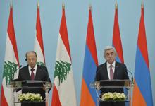 Նախագահ Սերժ Սարգսյանը և Լեհաստանի Հանրապետության նախագահ Միշել Աունը  ԶԼՄ-ների հետ հանդիպմանն ամփոփել են բանակցությունների արդյունքները