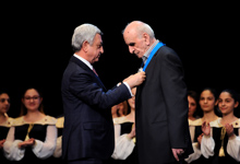 President attends jubilee event dedicated to 80th anniversary of Artavazd Peleshyan