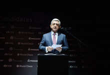 Приветственное слово Президента Сержа Саргсяна на открытии турнира претендентов на звание чемпиона мира по шахматам