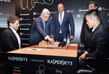 RA President makes first opening move at World Chess Candidates Tournament in Berlin