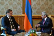 Նախագահը ընդունել է ՌԴ ԴԺ Դաշնության խորհրդի միջազգային գործերի կոմիտեի նախագահին