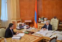 Министр культуры доложил Президенту о выполненной в 2017 году работе и приоритетных программах 2018 года