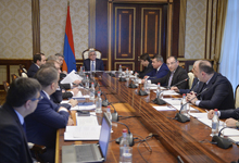 На совещании у Президента обсуждался процесс модернизации биометрический паспортов и идентификационных карт РА