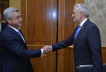 Նախագահն ընդունել է Հայաստանում ՄԱԿ-ի նորանշանակ մշտական համակարգողին