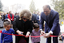 RA First Lady attends reopening of Kindergarten N114 in Yerevan
