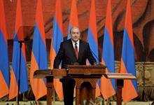 Նախագահ Արմեն Սարգսյանի ելույթը երդմնակալության արարողության ժամանակ