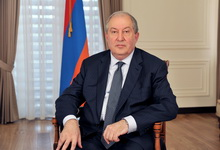 Message by the President of Armenia