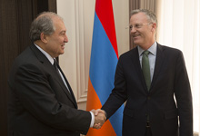President Armen Sarkissian received the Country Director, Armenia Resident Mission of the Asian Development Bank.