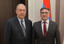 President received the Head of the Konrad Adenauer Stiftung/Foundation Regional Office Thomas Schrapel