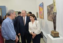 Նախագահ Սարգսյանը ներկա է գտնվել Առաջին Հանրապետության 100-ամյակին նվիրված ցուցահանդեսի բացմանը