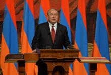 Поздравительное послание президента Армена Саркисяна по случаю Праздника Республики и 100-летних юбилеев Первой Республики Армения и Героических майских сражений