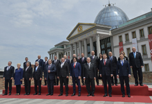 President Sarkissian attended celebrations dedicated to the 100th anniversary of the First Democratic Republic of Georgia