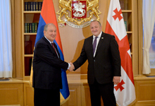 Рабочий визит Президента Армена Саркисяна в Грузию