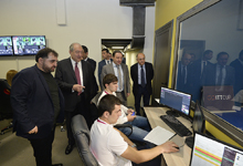 President Sarkissian visited Soft Construct Company