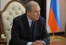 President Armen Sarkissian gave an interview to Voice of America
