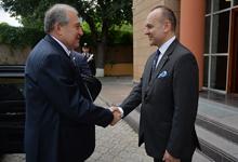Նախագահ Արմեն Սարգսյանն այցելել է Հայաստանում Իտալիայի դեսպանատուն