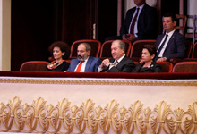 President attended the opening Gala Concert of the Aram Khatchaturian 14th International Competition