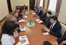 Նախագահն ընդունել է  Հայաստանում Եվրոպական բիզնես ասոցիացիայի  ներկայացուցիչներին