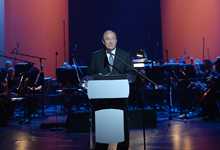 President attended event dedicated to the Winner of Aurora Prize 2018