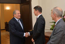 President received French Ambassador to Armenia and Rector of the French University in Armenia