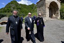 President Armen Sarkissian visited Dadivanq