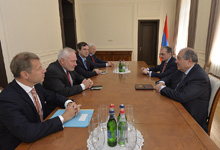 President Sarkissian received Co-Chairs of the OSCE Minsk Group