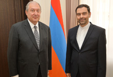 High-level Armenian-Iranian relations create a good basis for the development of a mutually beneficial cooperation – Armen Sarkissian