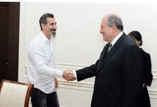 Նախագահ Արմեն Սարգսյանն ընդունել է Սերժ Թանկյանին եւ Կարին Հովհաննիսյանին