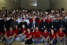 Նախագահ Սարգսյանը  հանդիպել է  համահայկական երիտասարդական հավաքի մասնակիցների հետ