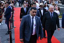Նախագահ Արմեն Սարգսյանը ներկա է գտնվել «Ոսկե ծիրան» կինոփառատոնի բացմանը