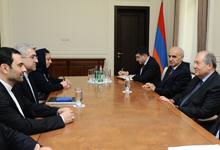 Президент принял возглавляемую министром энергетики Ирана делегацию