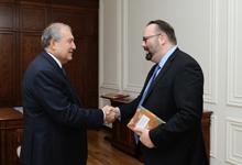 Президент Саркисян принял посла Канады в Армении для прощальной встречи