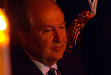 President Sarkissian attended the gala-concert dedicated to the closing of the World Cup