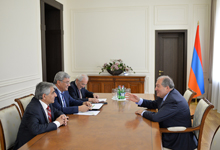 President met with a group of representatives of the scientific circles