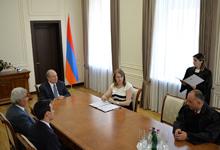 В резиденции президента состоялась церемония присяги новоназначенных судей