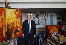 Նախագահն այցելել է նկարիչ Ռոբերտ Էլիբեկյանի արվեստանոց