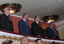 Նախագահը ներկա է գտնվել ՀՄԸՄ հիմնադրման 100- ամյակին նվիրված հանդիսությանը