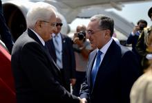 Պետական այցով Հայաստան է ժամանել Իտալիայի նախագահ Սերջիո Մատարելլան
