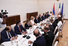High-level meeting took place at the Presidential Palace
