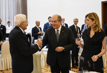 President Armen Sarkissian gave a state dinner in honor of the President of Italy Sergio Mattarella