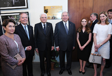 Presidents of Armenia and Italy were present at the opening of the Armenian-Italian Center for the Preservation of Cultural Heritage
