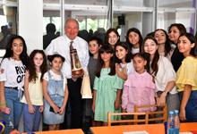 Հանրապետության նախագահն այցելել է «Մխիթար Սեբաստացի» կրթահամալիր եւ «Դասարան» կրթական կենտրոն