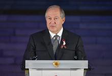 Президент Саркисян присутствовал на мероприятии, посвящённом 100-летию Парламента Армении