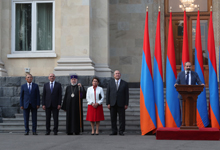 Նախագահ Սարգսյանը մասնակացել է Անկախության տոնին նվիրված պաշտոնական ընդունելությանը