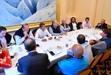В рамках саммита «Summit of Minds» Президент встретился с руководством более двух десятков компаний