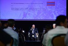 """Президент принял участие в саммите """"Summit of Minds"""" во французском городе Шамони"""