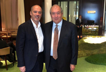 Президент Саркисян в Париже встретился со Стефаном Ришаром